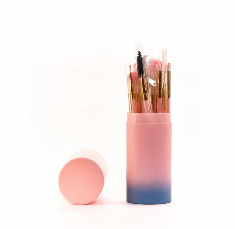 Brush Make Up 12pcs free Tabung