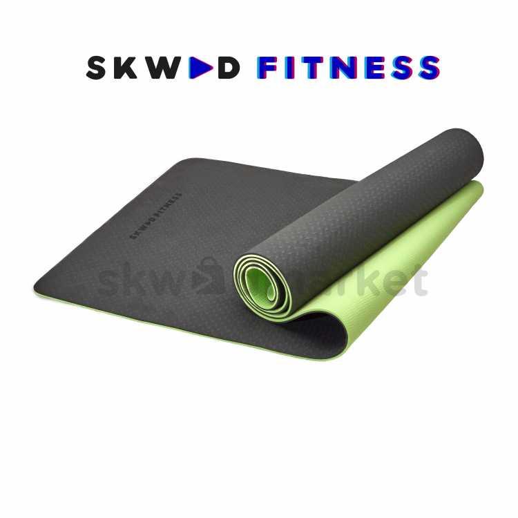 Yoga mat Hijau